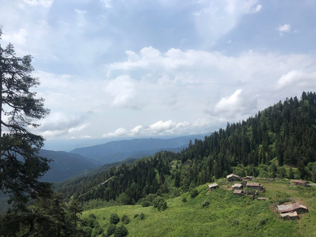 View from the Zekari Pass