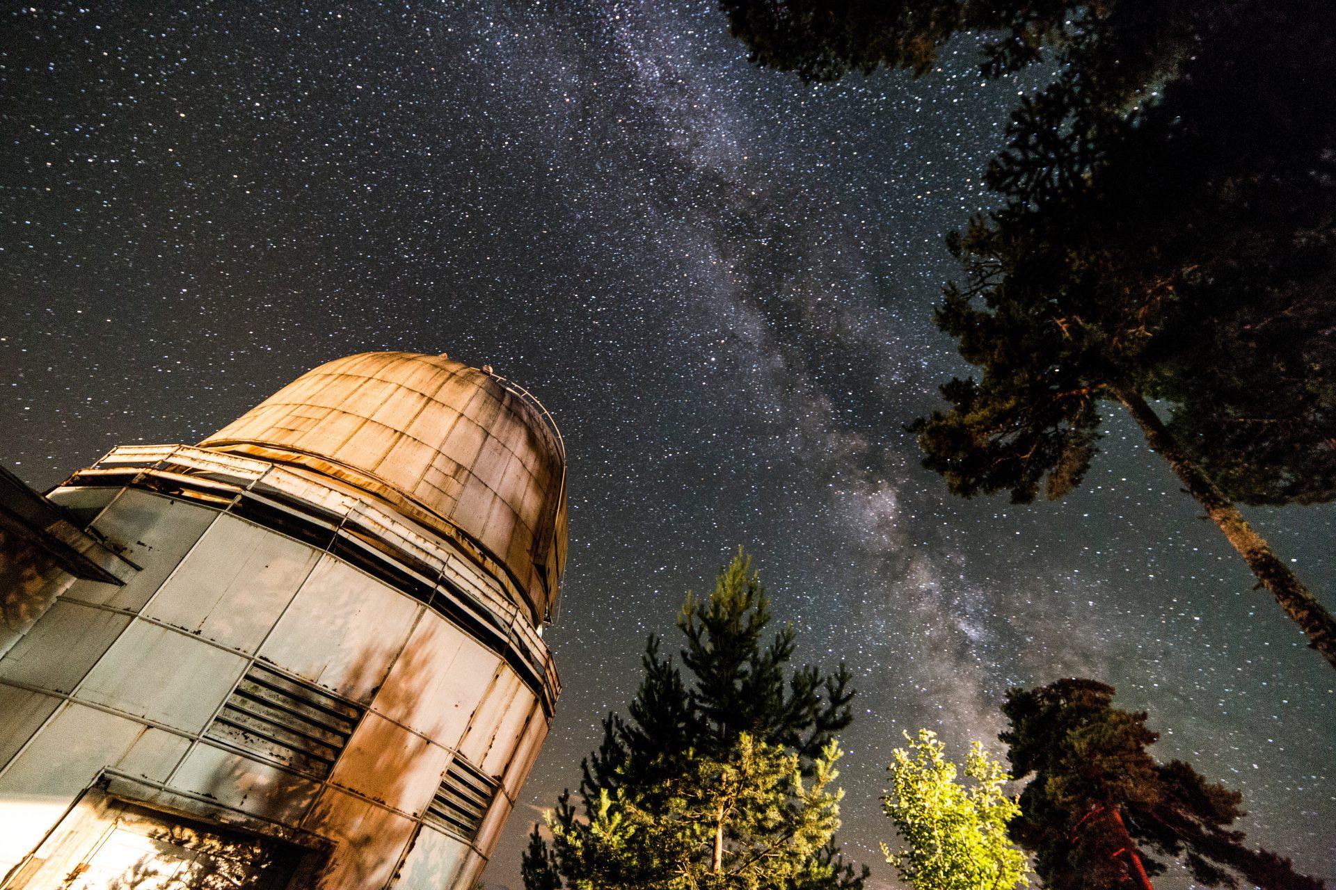Abastumani Observatory Photo by Tbel Abuseridze