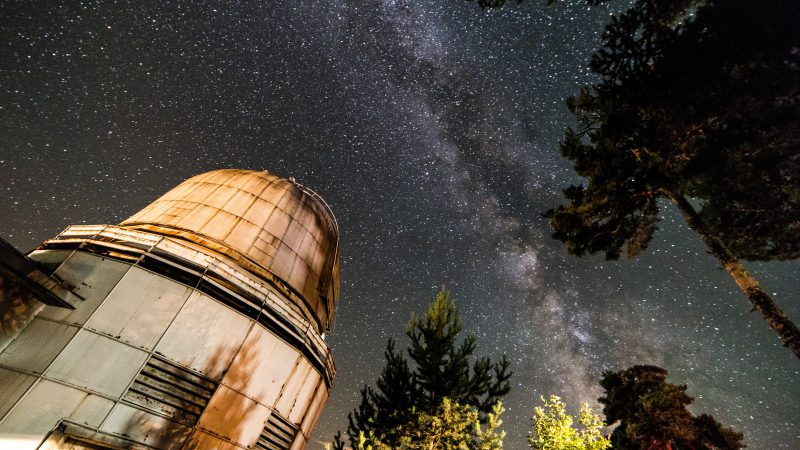 Abastumani Observatory Photo by Tbel Abuseridze